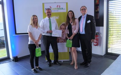 SumiRiko AVS Germany GmbH spendet 2.538 € an MainLichtblick e. V. !