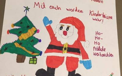 Diese entzückende Weihnachtspost ist für uns ein schöner Lichtblick!
