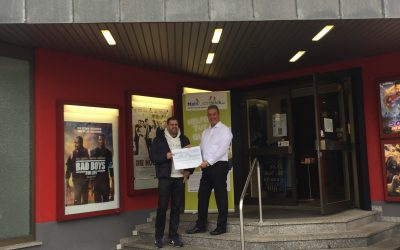 Spendenaktion im Kino Bambi & Camera!!