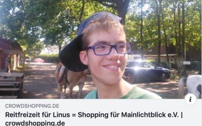 Reitfreizeit für Linus – Shopping für MainLichtblick