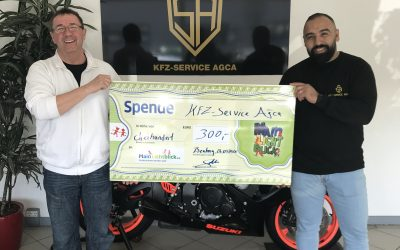 KFZ-Service AGCA spendet 300 Euro an MainLichtblick