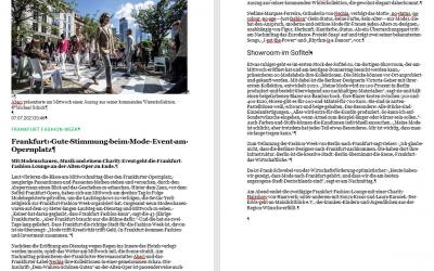Frankfurt: Gute Stimmung beim Mode-Event am Opernplatz aus FR.de