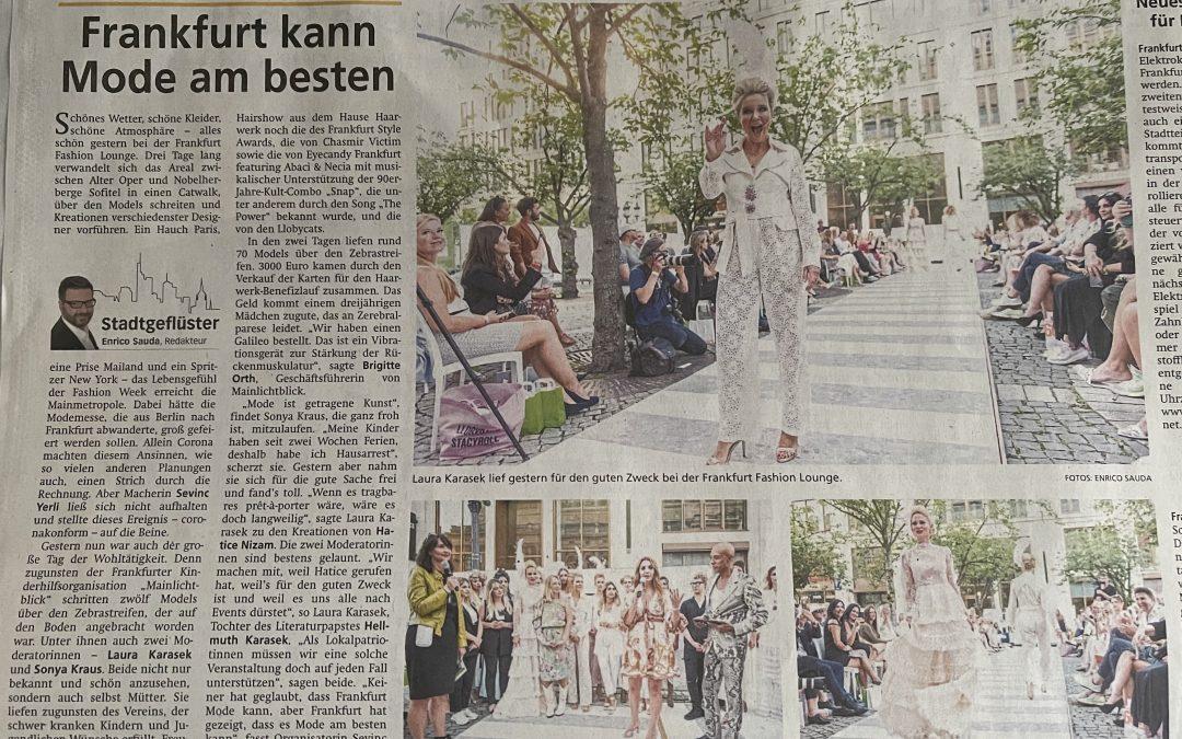 Frankfurt kann Mode am besten aus der FNP