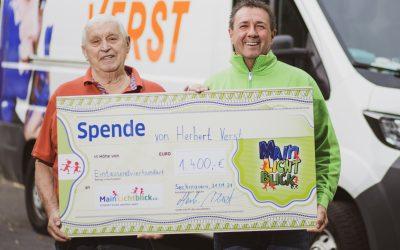 Herbert Verst aus Seckmauern spendet!
