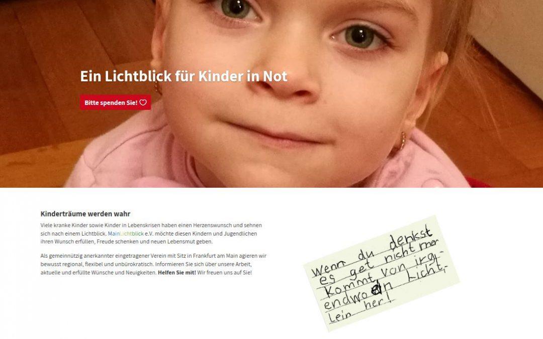 MainLichtblick-Website im neuen Glanz