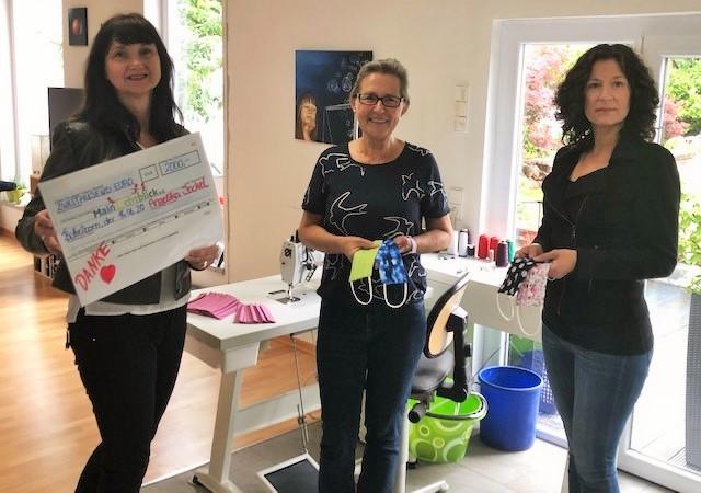 Spendenübergabe – 2000€ von Angelika Jockel