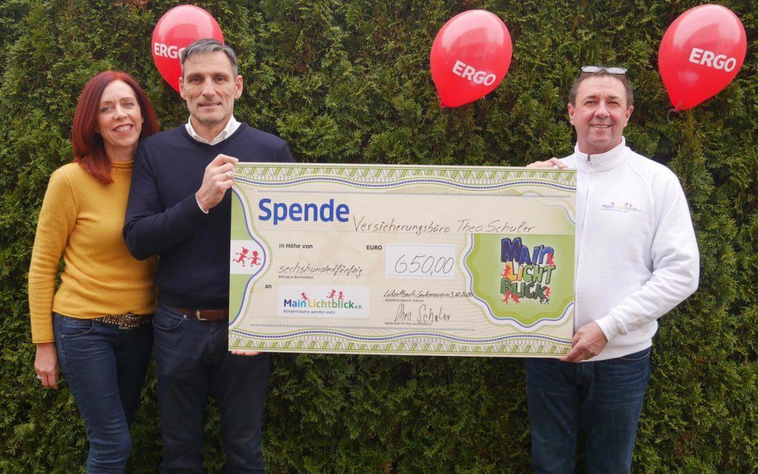 Versicherungsbüro Theo Schuler spendet für Mariellas Wunsch