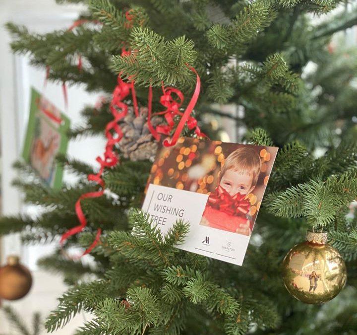 Herzliche Weihnachtsgrüße erreichten uns aus dem Sheraton Frankfurt Airport Hotel!